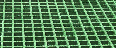 Moulded Fibreglass Grating